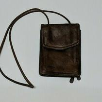 Fossil Brown Medium Distressed Leather Messenger Crossbody Handbag Purse Bag Photo