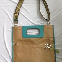 Fossil Brown Turquoise Crossbody Shoulder Bag Tote Purse Photo