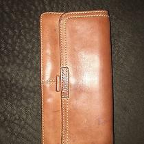 Fossil Brown Vintage Leather Wallet Photo