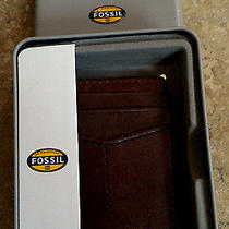 Fossil Bruce Multi Card Holder Money Clip Wallet in Metal Gift Box Nwt Ml3335001 Photo