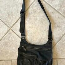 Fossil Butter Soft Black Leather Purse Photo