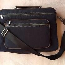 Fossil Camden Tz Navy Blue Brief Messenger Laptop Mens Womens Bag Sbg1023400 Photo