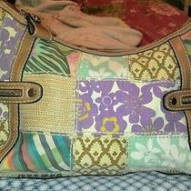Fossil Canvas and Leather Medium Shoulder Bag Photo
