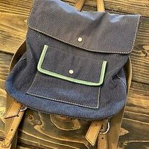 Fossil Canvas Backpack Blue  Photo