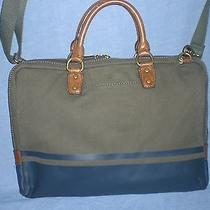 Fossil Canvas Laptop Bag  Photo