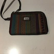 Fossil Canvas/leather Credit Cards Wristlet  Photo