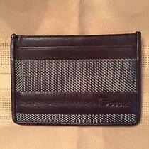 Fossil Card Case Leather/fabric Card Case Wallet Photo