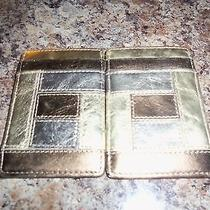 Fossil Card Holder / Wallet Metallic Photo