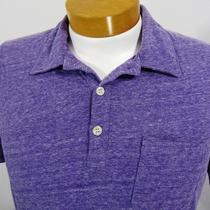 Fossil Casual Polo Shirt Size L Purple Photo