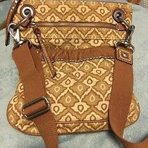Fossil Cloth and Leather Crossbody Photo