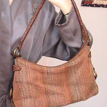 Fossil Cloth and Leather Handbag Photo