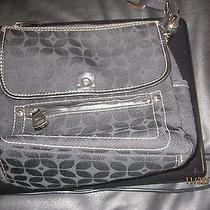 Fossil Cloth-Like Purse in Black Photo