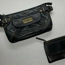 Fossil Clutch Wallet & Small Wallet Black Leather Photo