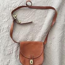 Fossil Cognac Color Leather Satchel Bag Photo