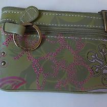 Fossil Coin Purse Pink and Green Photo