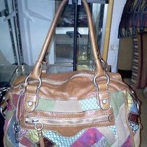 Fossil Colorful Cloth & Leather Handbag Photo