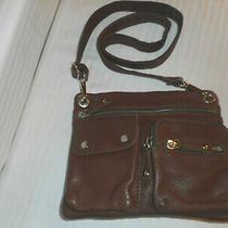 Fossil Cow Leather Crossbody Messenger Shoulder Handbag Zb5802 Brown Photo