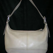 Fossil Cream Leather Shoulderbag Photo
