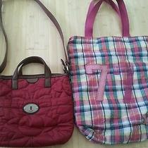 Fossil Crossbody Bag and American Eagle Shoulder Bag Photo