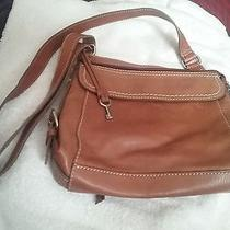 Fossil Crossbody in Light Brown Leather Photo