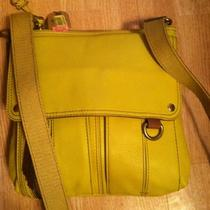 Fossil Crossbody Lime Green With Accessories Photo