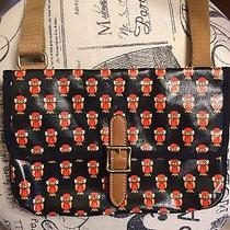 Fossil Crossbody Owl Purse in Orange Black and Brown. Used Twice  Photo
