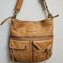 Fossil Crossbody Purse  Brown Leather  Photo