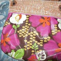 Fossil Crossbody Zb2500 Coated Canvas Bag Messenger Purse Photo