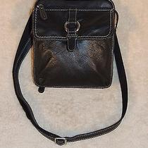 Fossil Crosstown Camera Bag Black Euc Photo