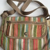 Fossil Cute Summer Fabric Cross Body Handbag Photo