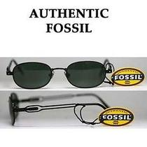 Fossil Dalton Spring-Hinged Black Frame Sunglasses W/ Gray Lenses for Under 30 Photo