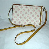 Fossil Dawson Organizer Crossbody Bag Pink Print  Photo