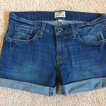 Fossil Denim Jean Shorts - Girlfriend Style Size 27 Photo