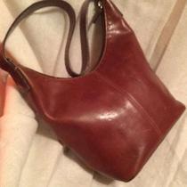 Fossil Distressed Leather Brown Shoulder Bag Bag Purse Satchel Photo