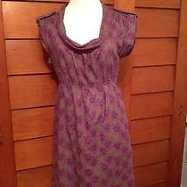 Fossil Dress Sz Medium With Flowers Photo
