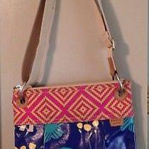Fossil Elephant Key Per Cross Body Rare and Sought After Euc Photo
