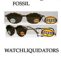 Fossil Elvie Plastic Tortoise Frame/brown Lens Flex-Hinged Sunglasses Under 30 Photo
