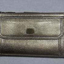 Fossil Emma Genuine Leather Metallic Clutch Wallet  Photo