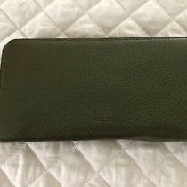 Fossil Emma Zip Large Wallet/clutch Rosemary (Green) Photo