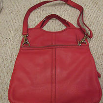 Fossil Erin Tote-Red Photo