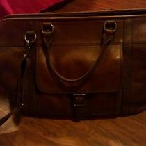 Fossil Estate Framed Duffle (Cognac) Mbg9094222 Photo