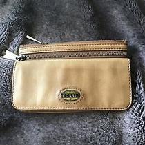 Fossil Explorer Flap Clutch Tan Leather Photo