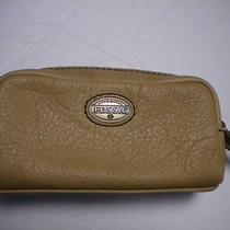 Fossil Explorer Zip Pouch in Honey Nwt Photo