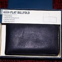 Fossil Flat Billfold Wallet Photo