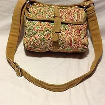 Fossil Floral Cotton Crossbody -Super Trendy Cute Bag - Excellent Condition Photo