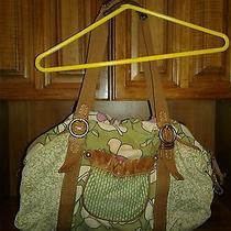 Fossil Floral Hobo Shoulder Bag Handbag Purse   Photo