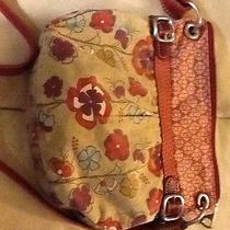 Fossil Flowers Purse Red  Photo