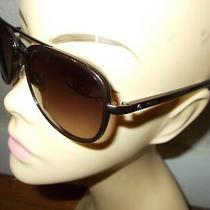 Fossil Fos 2009/s 0ty6 Brown Frame Brown Lenses Sunglasses Photo