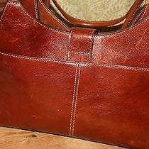 Fossil Genuine Leather Vintage Handbag Photo