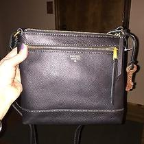 Fossil Gift Crossbody in Black Photo